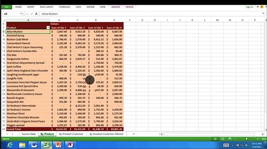 Excel auf ARM- Tablet unter Windows 8